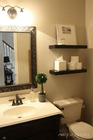 85 best bathrooms images on pinterest bathroom ideas home and floating shelves from ikea over toilet for storage and decoration pretty mirror over the sink pretty to add flowers of pictures