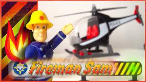 fireman sam playmobil police helicopter peppa pig