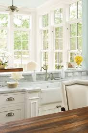 Small Galley Kitchen With Peninsula Kitchen Layouts And Essential Spaces Southern Living