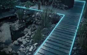 Outdoor Rope Lighting Ideas Fantastic Ideas For Using Rope Lights For Decoration