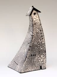 susan gunderson raku sculpture whimsical ceramic
