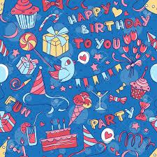 imagenes de cumpleaños sin letras ilustración vectorial fiesta de cumpleaños feliz saludando sin