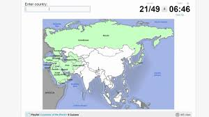 Map Quiz Asia by Quiz Countries Of Asia Youtube
