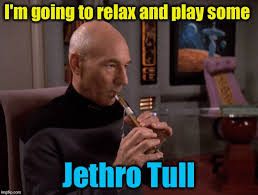 Capt Picard Meme - and you thought captain picard didn t know any cool tunes on his