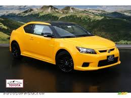 scion 2012 2012 scion tc release series 7 0 in high voltage yellow 024292