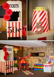 carnival party supplies kara s party ideas circus carnival boy girl 5th birthday party