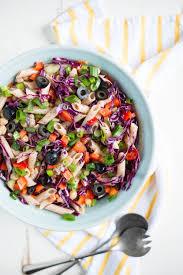 20 minute rainbow veggie pasta salad u2014 real food whole life