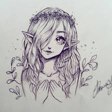 elfgirl drawings on paigeeworld pictures of elfgirl paigeeworld