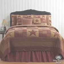 King Quilt Bedding Sets Bedroom Furniture Country Rustic Western Cal