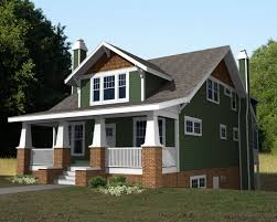 craftsman house plans with porch home architecture two story craftsman house plans wide house