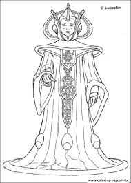 star wars queen amidala coloring pages printable