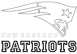 england patriots logo coloring pages coloring