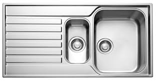 Franke Ascona  Bowl Polished Stainless Steel Sink  Drainer - Kitchen ss sinks