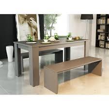 table de cuisine avec banc table et banc de cuisine stunning salle manger moderne et sombre u