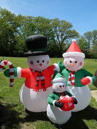 Snowman Lawn Decorations 193 Best Inflatable Yard Decor Images On Pinterest Bunnies
