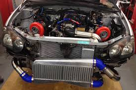 subaru turbo kit video twin turbo ls1 swapped wide body wrx wagon