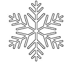 snowflake template frozen birthday party snowflake patterns