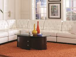 Modern Sofa Sofa 34 Captivating Above Is A Modern Black Leather Sectional