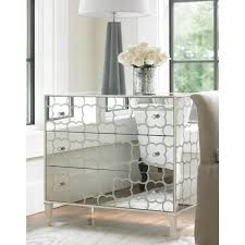 Mirrored Bed Shilo Mirrored Bedside Table