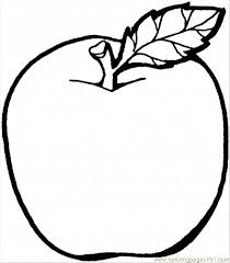 apple coloring pages print free printable coloring apple