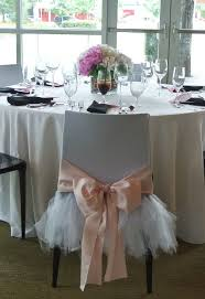 tutu chair covers fancy friday tulle wedding skirts