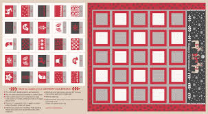 advent calendar lewis irene fabric advent calendar