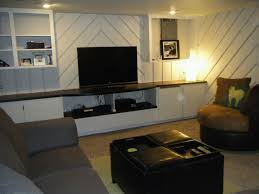basement living room before after simply chic
