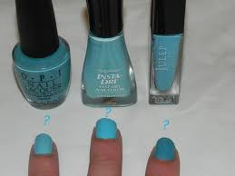 smart n snazzy baby blues nail polish dupes