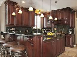 Black And Oak Kitchen Cabinets - kitchen dark wood normabudden com
