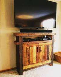 Barn Wood Entertainment Center Handcrafted Custom Built Wood Furniture Enterprise Wood Products