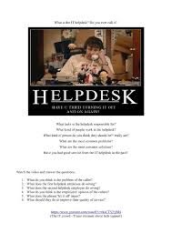 What Does A Help Desk Person Do Worksheet It Help Desk Service