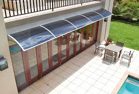 Awning For Back Door Pc1200al Series Door Canopy With Aluminum Brackets