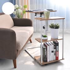 Corner Laptop Desk High Quality Liftable Laptop Desk Modern Minimalist Bedside Table