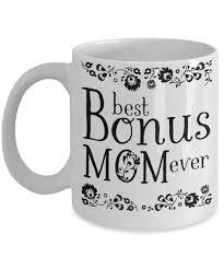 best mugs best bonus mom ever coffee mug step mother mother in law gift