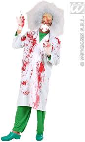 buy bloody lab coats fancy dress costume mens halloween