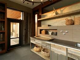 Rustic Modern Kitchens  Eatwell - Rustic modern kitchen cabinets