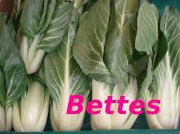 cuisine des blettes dictionnaire de cuisine et gastronomie bettes ou blettes