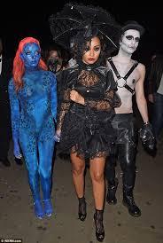Blue Black Halloween Costumes Jade Thirlwall Blue Stunning Mystique Halloween Costume