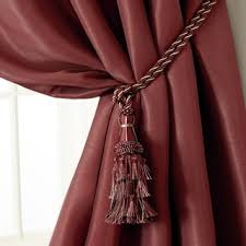 Tassel Curtain Aurora Home Bella Tassel Curtain Tie Back Pair Free Shipping On