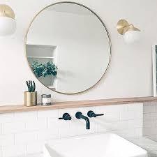 bathroom round mirror round bathroom mirrors with lights 8134 mirror design 9