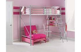 High Sleeper With Sofa And Desk High Bed With Desk And Futon Furniture Shop