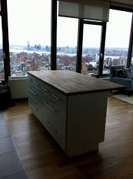 ikea kitchen island installation marvelous ikea varde four drawer kitchen island assembly pics for