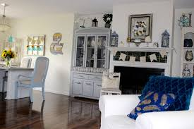 faded blues fall home tour 2016 french country home decor party