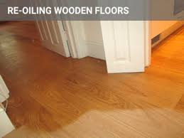 re oiling recoating floors