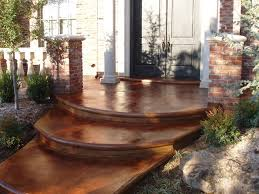Diy Cement Patio by 71 Best Concrete Stains Diy Images On Pinterest Stained
