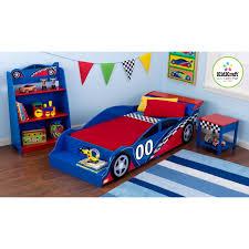Boys Rug Racecar Toddler Bed
