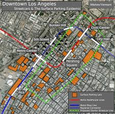 Map Of Downtown Los Angeles Los Angeles Wilshire Vermont Page 3