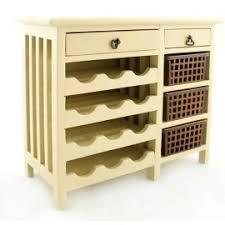 Dollhouse Furniture Kitchen Kitchen Walnut Display Door Cabinet Dollhouse Furniture