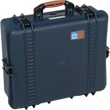 brace pb 2700f hard case with foam interior blue