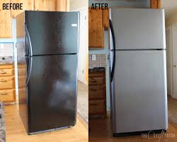home depot stainless steel dishwasher black friday the craft patch i painted my appliances liquid stainless